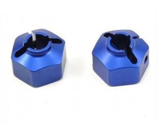 (2) Dados Alum. Hex. 12mm JConcepts - 2081