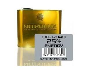 Lata NitroMetano 25% 2.5L. Nitrolux