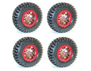 (4) Ruedas Slash SC 4x4 (Hex. 12mm) Traxxas