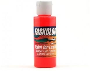 Pintura FasKolor Rojo Fluorescente - 40105