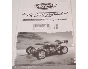 Manual Montaje Carson Specter
