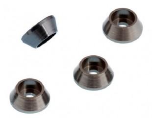 Mugen MBX-6 Casquillos Alum. 3mm