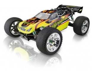 ANSMANN KRYPTONITE 1:8 Chasis completo