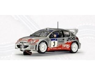 Peugeot 206 4x4 WRC 2002 1:32