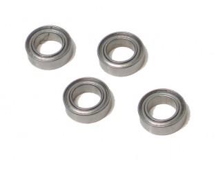 4 Rodamientos Metalicos 6x10x3mm