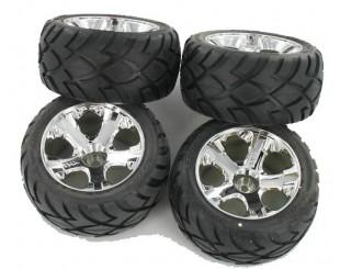 4 Ruedas Traxxas JATO 2WD (Hex.12mm)