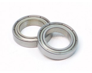 (2) Rodamientos Metalicos ZZ 12x18x4mm HPI HB - B033