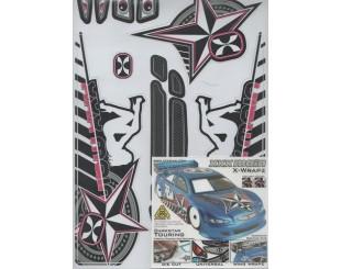 Adhesivos XXX main Touring 1:10