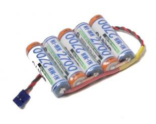 SANYO Pack 5 Pilas AA (6v) 2700 mAh
