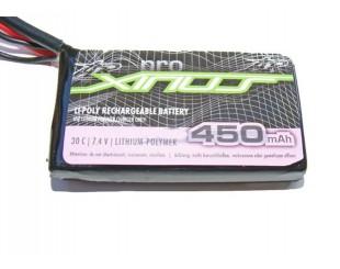 Lipo (7.4v) 450 mAh 30C AR Xirius
