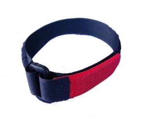 (2) Battery Straps Velcro con lazo 16x300mm