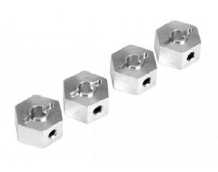 (4) Dados Alum. Hex. 12mm LOSI - B1461