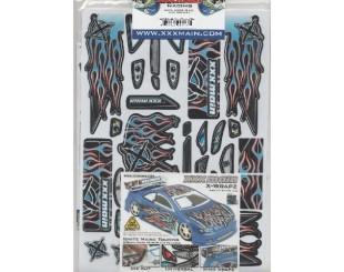 Adhesivos XXX main Touring 1:18 - W020B