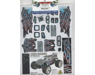 Adhesivos XXX main Truck 1:18 - W018B