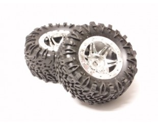 4 Ruedas LRP 1:18 Crawler (Hex.12mm)