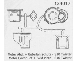 Protector Motor S10 Twister - 124017