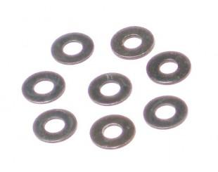 (8) Arandelas Acero Black 3x8x0.5mm