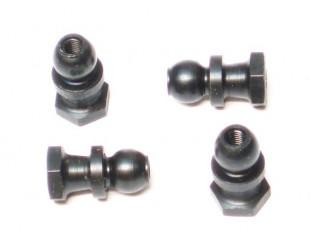 (4) Calzos Acero Amortiguadores Robitronic