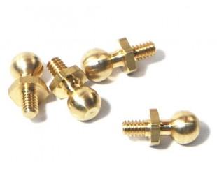 (8) Bolas roscadas Acero 4-40 HPI - Z136