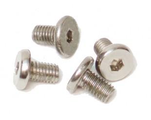 (4) Tornillos Acero M5x8mm Carson - 205498