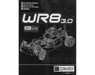 Manual Montaje HPI WR8 3.0 - 108091