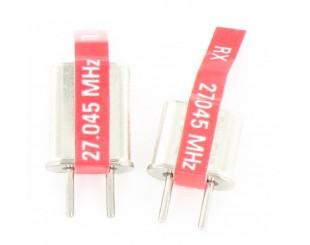 CRISTALES AM27 Mhz TX / RX Traxxas