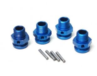 (4) Separadores Alum. Hex.17mm LRP - 133156