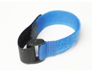 (2) Battery Straps Velcro con lazo 20x200mm
