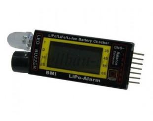 Lipo Alarma 1S a 6S BMI - 19816