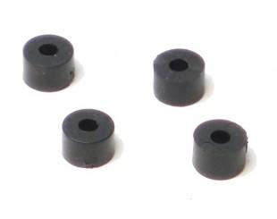 (4) Arandelas Naylon 3x3mm HPI Hot Bodies