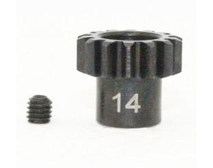 Piñon Acero 14T (M1) 5mm Team C - H394