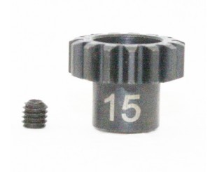 Piñon Acero 15T (M1) 5mm Team C - H395